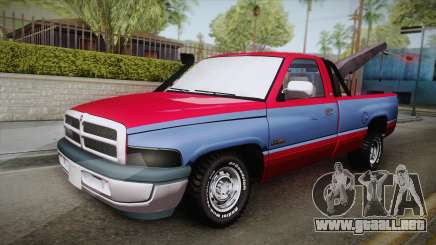 Dodge Ram 2500 Towtruck para GTA San Andreas