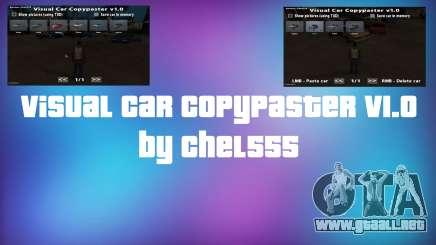 Visual Car Copypaster v1.0 para GTA San Andreas