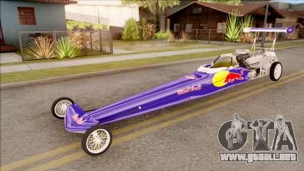 Dragster Red Bull para GTA San Andreas