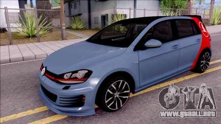 Volkswagen Golf 7 GTI Turkish Airlines para GTA San Andreas