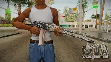 El arma de la Libertad v3 para GTA San Andreas tercera pantalla