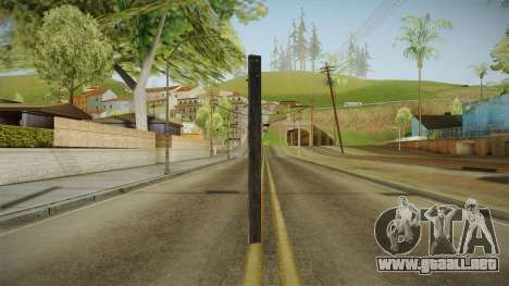 Silent Hill Downpour - Wooden Plank SH DP para GTA San Andreas tercera pantalla