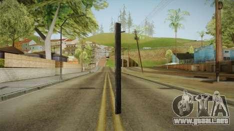 Silent Hill Downpour - Wooden Plank SH DP para GTA San Andreas segunda pantalla