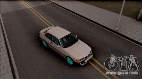 BMW M3 E36 Drift v2 para la visión correcta GTA San Andreas