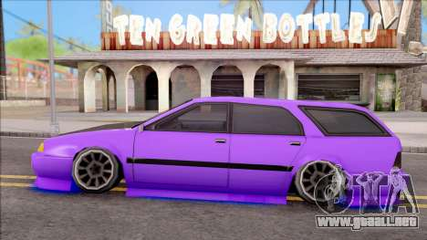Stratum Stanced With Neon para GTA San Andreas left