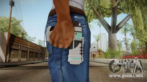 Planetside 2 - NS Deep Freeze para GTA San Andreas