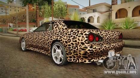 New Elegy Paintjob v3 para GTA San Andreas left