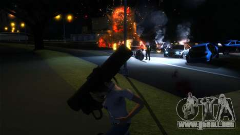 ENB LOW SPEC para GTA San Andreas tercera pantalla