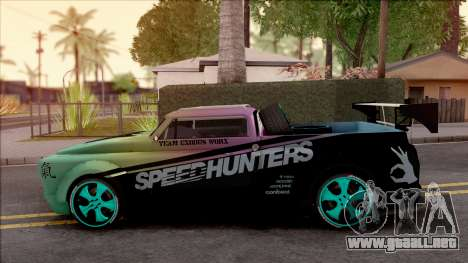 Chevrolet GMC Rocket Bunny 1971 para GTA San Andreas left