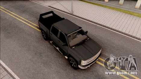 Chevrolet Silverado 2015 Off-Road para la visión correcta GTA San Andreas