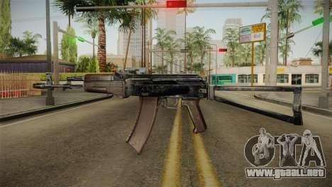 El arma de la Libertad v3 para GTA San Andreas segunda pantalla