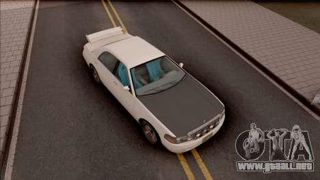 Dundreary Admiral RS para GTA San Andreas