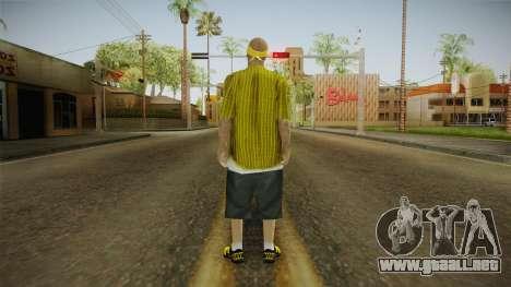 New Vagos Skin v5 para GTA San Andreas tercera pantalla