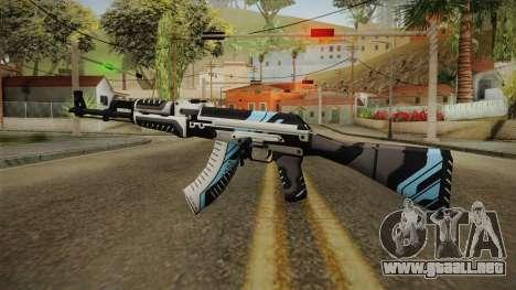 CS: GO AK-47 Vulcan Skin para GTA San Andreas segunda pantalla