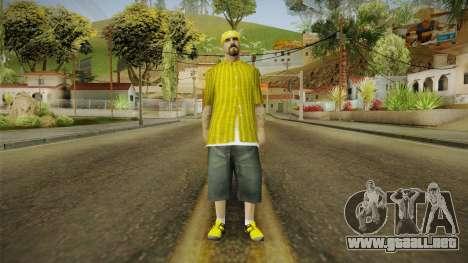New Vagos Skin v5 para GTA San Andreas segunda pantalla