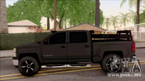 Chevrolet Silverado 2015 Off-Road para GTA San Andreas left