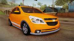 Chevrolet Agile Crossport Edition para GTA San Andreas