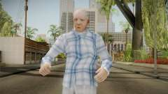 Viejo Inimputable Skin para GTA San Andreas