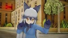 Kemono Friends Silver Fox 02 para GTA San Andreas