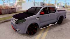 Ford Ranger 2014 Edition Flux Som para GTA San Andreas