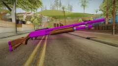 Purple Shotgun para GTA San Andreas
