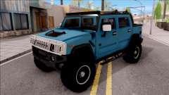 Hummer H2 Sut 4x4 para GTA San Andreas