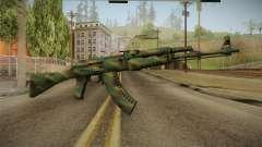 CS: GO AK-47 Jungle Spray Skin para GTA San Andreas