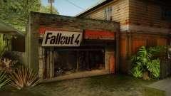 Fallout 4 Garage Texture HD para GTA San Andreas