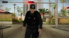 Turkish Police-Rapid Response Unit-Long Sleeves para GTA San Andreas