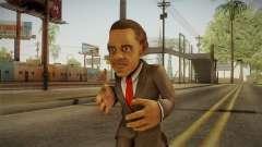 Barack Obama DD Skin para GTA San Andreas