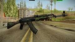 CS: GO AK-47 Emerald Pinstripe Skin para GTA San Andreas