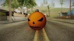 Green Goblin Classic Pumpkin Grenade para GTA San Andreas