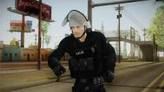 Turkish Riot Police with Gear para GTA San Andreas