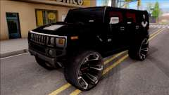 Hummer H2 Batman Edition para GTA San Andreas