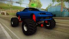 Nissan Skyline R32 Pickup Monster Truck para GTA San Andreas