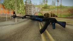 CS: GO AK-47 Blue Laminate Skin para GTA San Andreas
