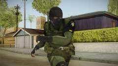 MSF Custom Soldier Skin 1 para GTA San Andreas