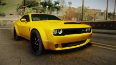 Dodge Challenger Demon 2018 para GTA San Andreas