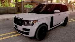 Range Rover Vogue Sport 2017 para GTA San Andreas