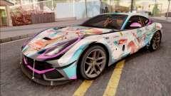 Ferrari F12 Berlinetta Noraimo Miku Racing 2016 para GTA San Andreas