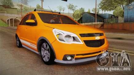 Chevrolet Agile Crossport Edition para GTA San Andreas