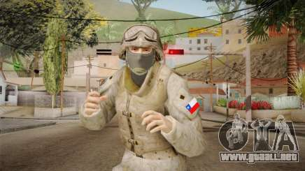 Soldado del Ejercito Chileno para GTA San Andreas
