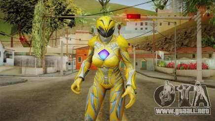 Yellow Ranger Skin para GTA San Andreas