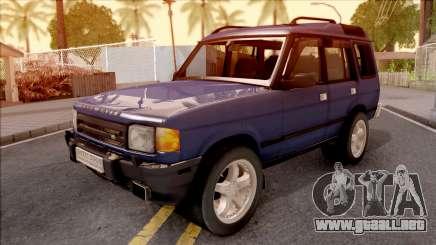 Land Rover Discovery para GTA San Andreas