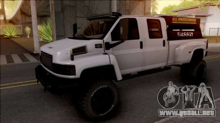 GMC Topkick C4500 Off-Road para GTA San Andreas