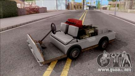 Caddy from GTA 5 DLC GunRunning para GTA San Andreas