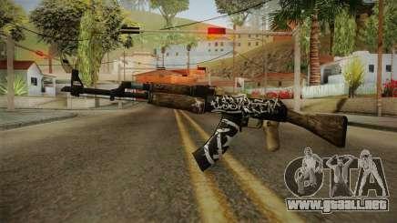 CS: GO AK-47 Wasteland Rebel Skin para GTA San Andreas