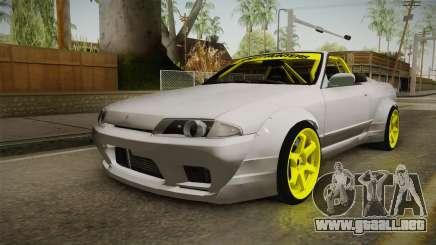 Nissan Skyline R32 Cabrio Drift Rocket Bunny v2 para GTA San Andreas