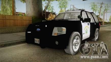 Ford Expedition CHP para GTA San Andreas