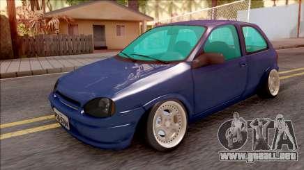 Chevrolet Corsa B Stance para GTA San Andreas